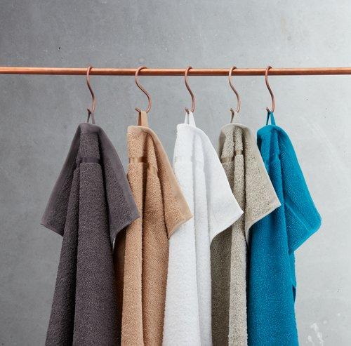 Полотенце YSBY 30x50 см светло-серый