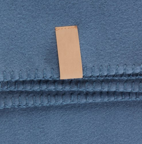 Plaid DAGLILJE polaire 130x170 bleu