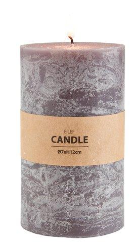 Формовая свеча EILEF 12см темно-серый