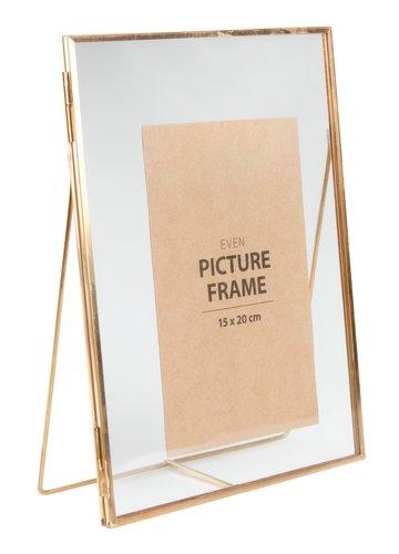 Fotorámeček EVEN 15x20 cm zlatá