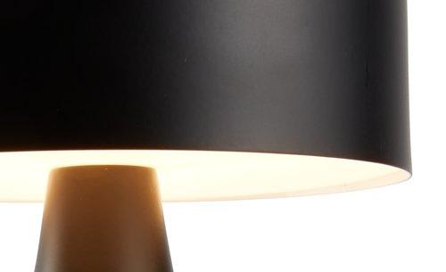 Lampada batterie JACOB Ø13xH21cm e timer