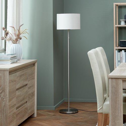 Staande lamp KRISTOF H145cm chroom
