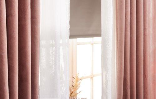 Штора блэкаут BOLGA 140x170 светло-серый