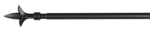 Gordijnroede LILJA 160-300 cm zwart