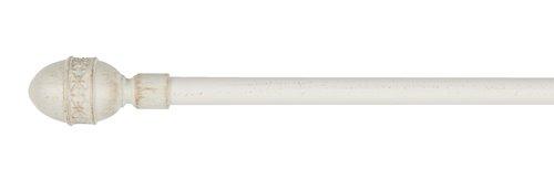 Gardinstång MELLOW 90-160 cm vit/guld