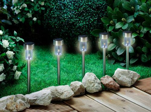 Lámpara solar ENG Ø6xA37 5 uds/paquete