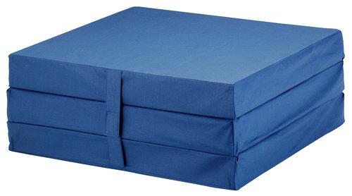 tyk foldemadras Foldemadras 70x190 PLUS F10 blå | JYSK tyk foldemadras