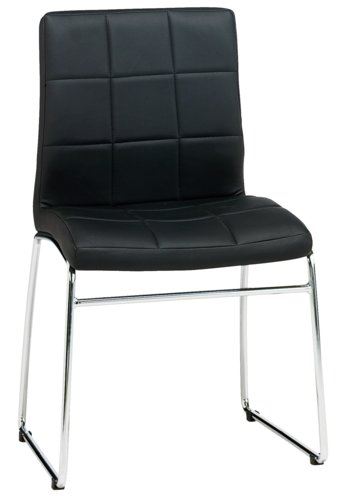 Matbordsstol HAMMEL konstläder svart