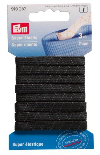 Kuminauha 7mm 3m/pkt musta