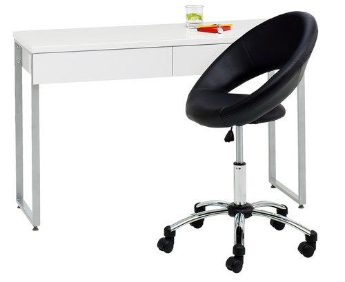 Крісло офісне HORSLUNDE шт.шкіра чорний