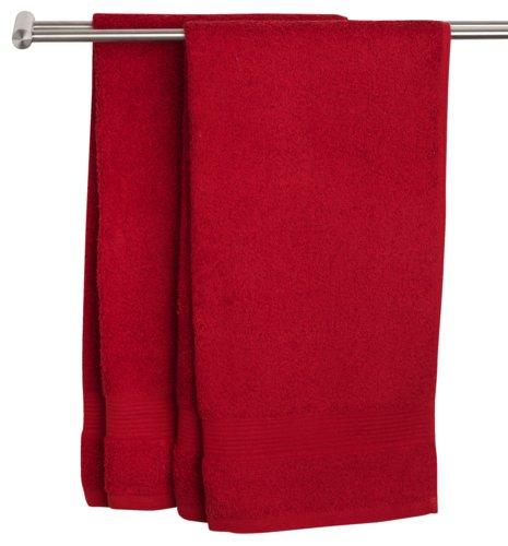 Håndklæde KARLSTAD 50x100 rød