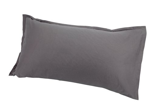 Funda almohada 45x135 gris