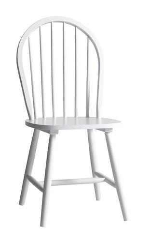 Ruokapöydän tuoli ASKEBY valkoinen