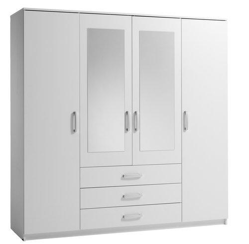 Ormar VINDERUP 200x200 cm bijela