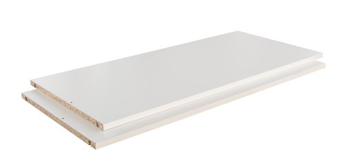 Shelves TARP/ONSTED 73x45 2 pack white