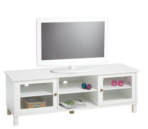 TV bench NIELSTRUP white