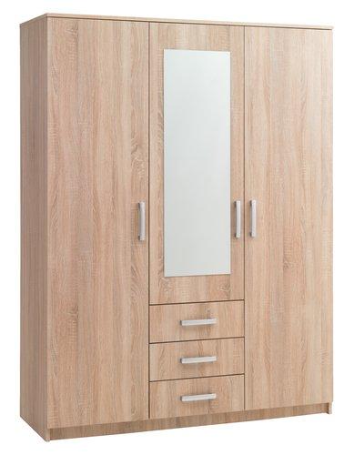 Kleiderschrank VINDERUP 150x200 eiche