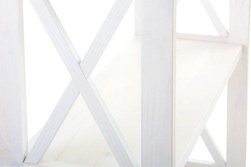 Стелаж ALMIND 5 полиць білий