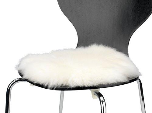Coussin de chaise KEJSERLIND Ø34 blanc