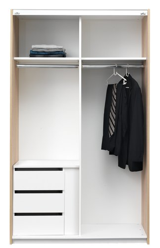 Insats t/TARP/ONSTED 120 garderob