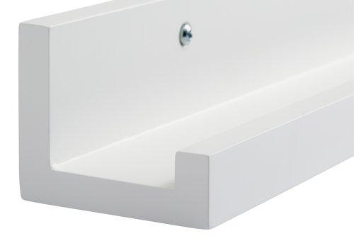 Kuvahylly AGEDRUP 60x7 valkoinen