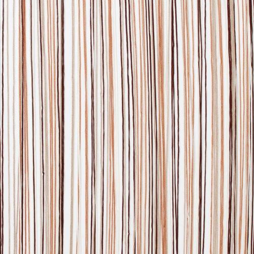 Zasłona sznurk. NISSER 90x245 brązowa