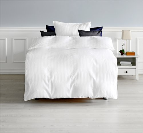Duvet cover NELL Sateen 200x220 white