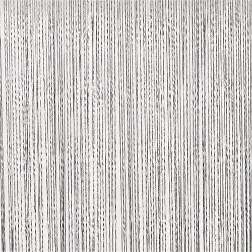 Zavesa iz nitk NISSER 140x245 cm srebrna
