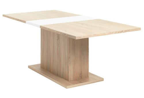 Stół SLAGELSE 90x160/200 dąb
