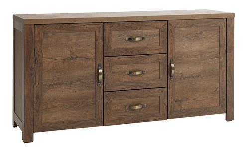 Sideboard JUNGEN 2 door 3 drw w.oak