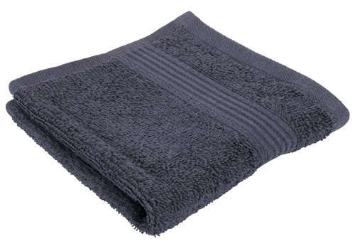 Face cloth KARLSTAD grey KRONBORG