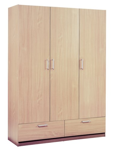 Wardrobe EJERSTED 144x200 oak