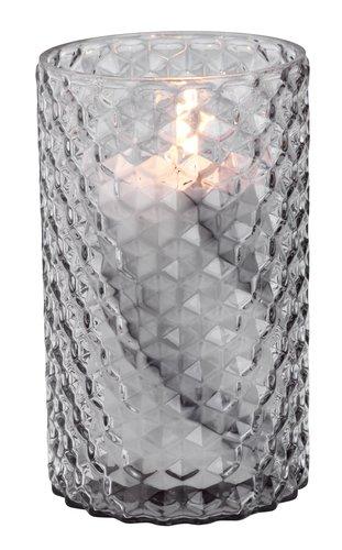 Vase FOSS Ø11xH18cm glas