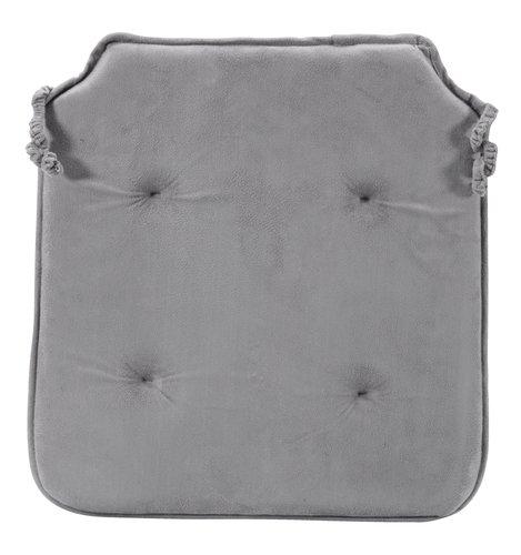 Jastuk za stolice ANTEN 41x43x2,5 s.siva