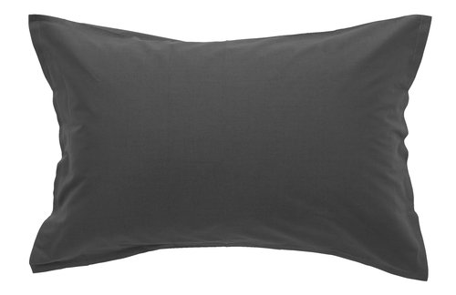 Pillowcase 50x70/75cm grey KRONBORG