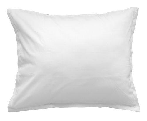 Pudebetræk satin 60x63/70cm hvid