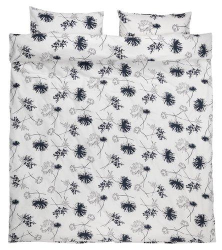 Set posteljine VALERIE krep 200x220 siva