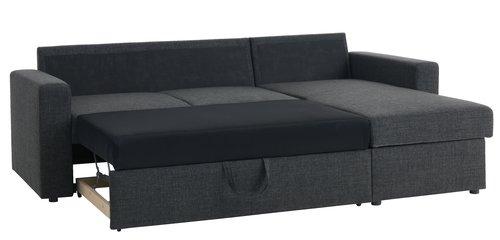 Slaapbank chaise longue havdrup jysk for Chaise jysk