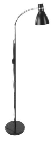 Lattialamppu HANSSON Ø22xK155cm musta