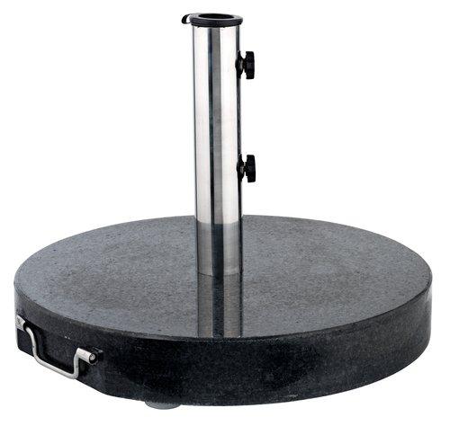 Основа за чадър NARVIK 40 кг черна