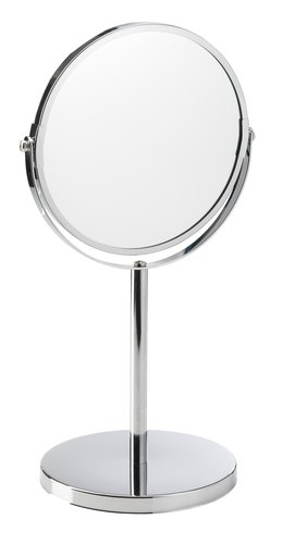 Double sided mirror MEDLE Steel