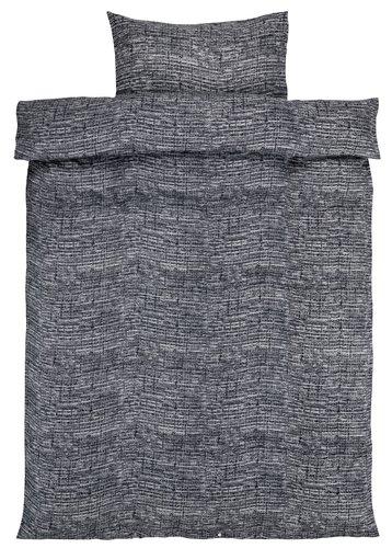 Sengesett FILIPPA flanell EXL grå