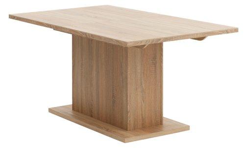Стіл обідній SLAGELSE 90х160/200см дуб