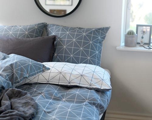 Duvet cover ATLA 140x200 grey