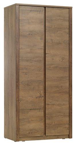 Wardrobe VEDDE 90x197 oak