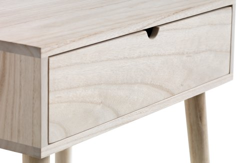 Bedside table ILBRO 1 drw natural