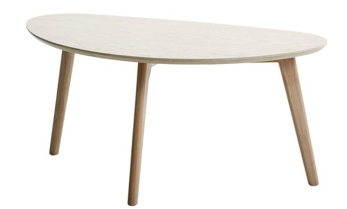 Coffee table LEJRE 48x85 cm oak