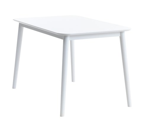 Blagovaonski stol LANGDAL 77x118 bijela