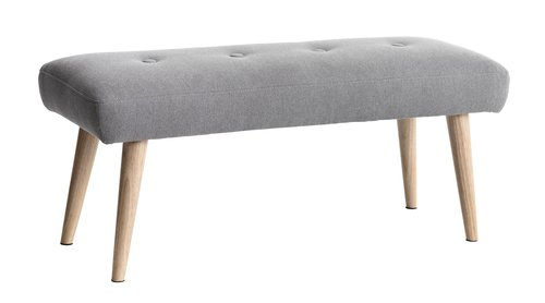 Bench EGEDAL light grey