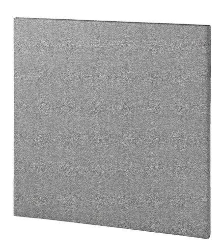 Sengegavl BASIC H5 120 plain grå